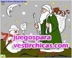 Juegos vestir pinta la navidad