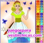 Juegos vestir la princesa y la mariposa