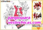 Juegos vestir colorea a high school musical