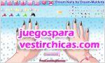 Juegos vestir diseñadora de uñas