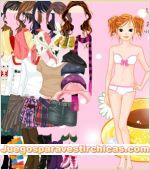 Juegos vestir vestir chica chic