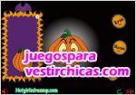 Juegos vestir lamparas de halloween