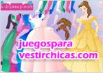 Juegos vestir princesa maravillosa
