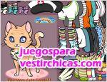 Juegos vestir meow meow