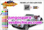 Juegos vestir tunea y colorea morgan roadster