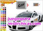 Juegos vestir tunea el bugatti veyron
