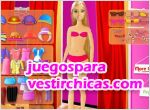 Juegos vestir barbie shopping