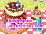Juegos vestir happy birthday