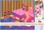 Juegos vestir decorar habitacion de brujitas