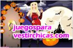 Juegos vestir halloween dressup