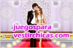Juegos vestir romantic church wedding