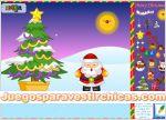 Juegos vestir decoracion de paisaje navidad