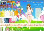 Juegos vestir juego de vestir chica arcoiris
