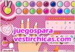 Juegos vestir el arte de pintar uñas