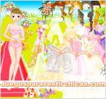 Juegos vestir vestir chica novia de boda