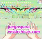 Juegos vestir las uñas de marisol