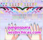 Juegos vestir las uñas de una diva