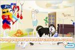 Juegos vestir decora la veterinaria