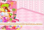 Juegos vestir decorar cuarto a niña