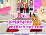 Juegos vestir tienda de mascotas