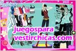 Juegos vestir cool winter dress up viste a la modelo para el invierno