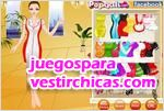 Juegos vestir waitress dress up vestirla para la cita