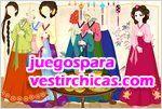 Juegos vestir korean ancient chief girl chica coreana