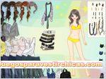 Juegos vestir chica de amarillo