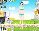 Juegos vestir vestir chica picnic