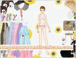 Juegos vestir vestir chica vestido largo