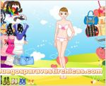 Juegos vestir chica pradera
