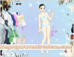 Juegos vestir vestir chica burbujas