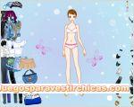 Juegos vestir vestir chica mariposa