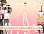 Juegos vestir chica flores
