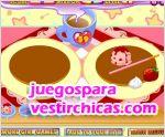 Juegos vestir diseño de tortitas