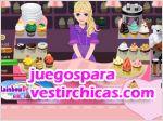 Juegos vestir pasteles para los clientes