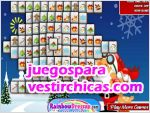 Juegos vestir mahjong santa