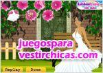 Juegos vestir una boda floral