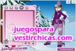 Juegos vestir ski girls ni�as de esqui