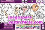 Juegos vestir easter coloring pascua para colorear