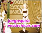 Juegos vestir actriz award