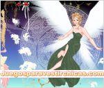 Juegos vestir vestir chica angel princesa