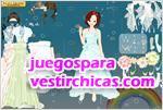 Juegos vestir vestido de novia