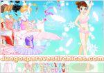 Juegos vestir vestir chica bailarina de ballet