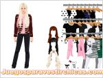 Juego  dress up avril lavigne vestir a avril lavigne