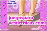 Juegos vestir pies so�ados y a la moda 2