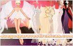Juego  angelicalmente vestida