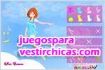 Juegos vestir vestir a bloom del club winx 2