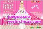 Juegos vestir barbie vestido de novia 2