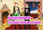 Juegos vestir fiesta de navidad